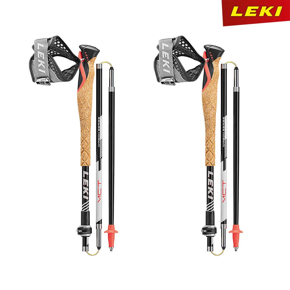레키 MCT12 바리오 카본 크로스 트레일 접이식 등산스틱 65026801 한국정식수입