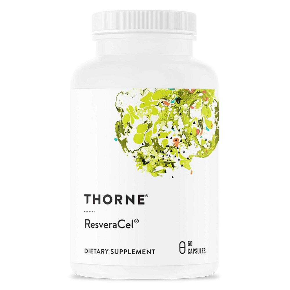 Thorne Research ResveraCel 쏜리서치 레스베라셀 60정, 1팩