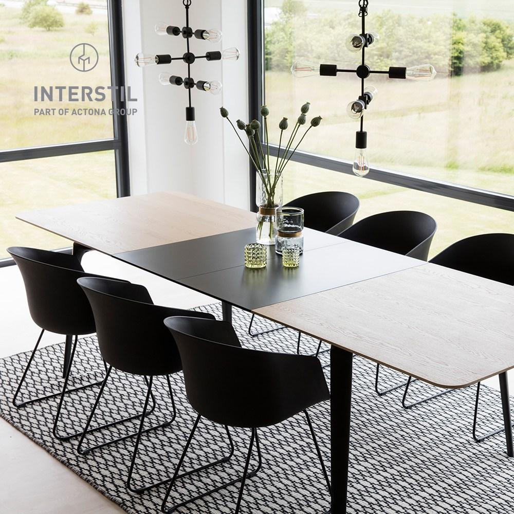 인터스틸 커넥트 6인 8인 확장형 식탁, 단일상품