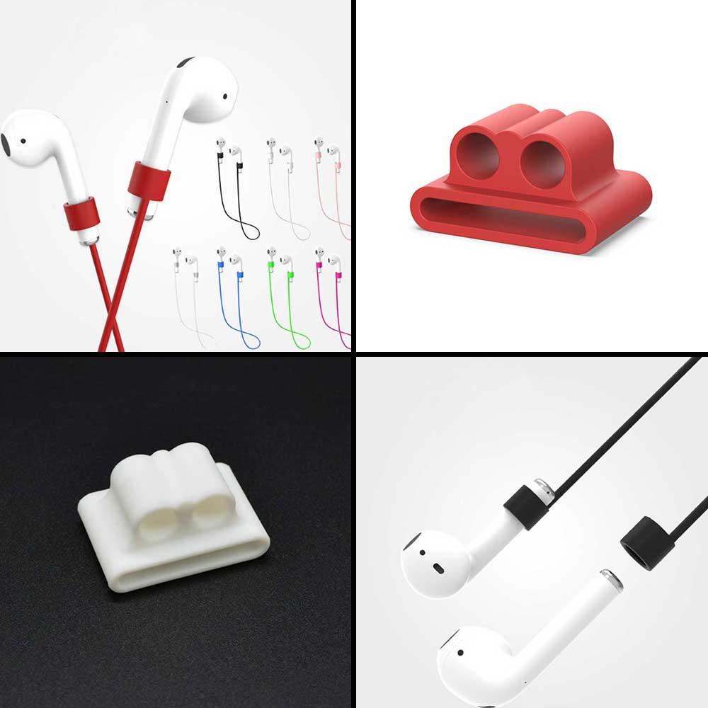 애플 에어팟 1/2/3 세대 프로 차이팟 케이스 폰줄, 롱민트, air115-에어팟1세대