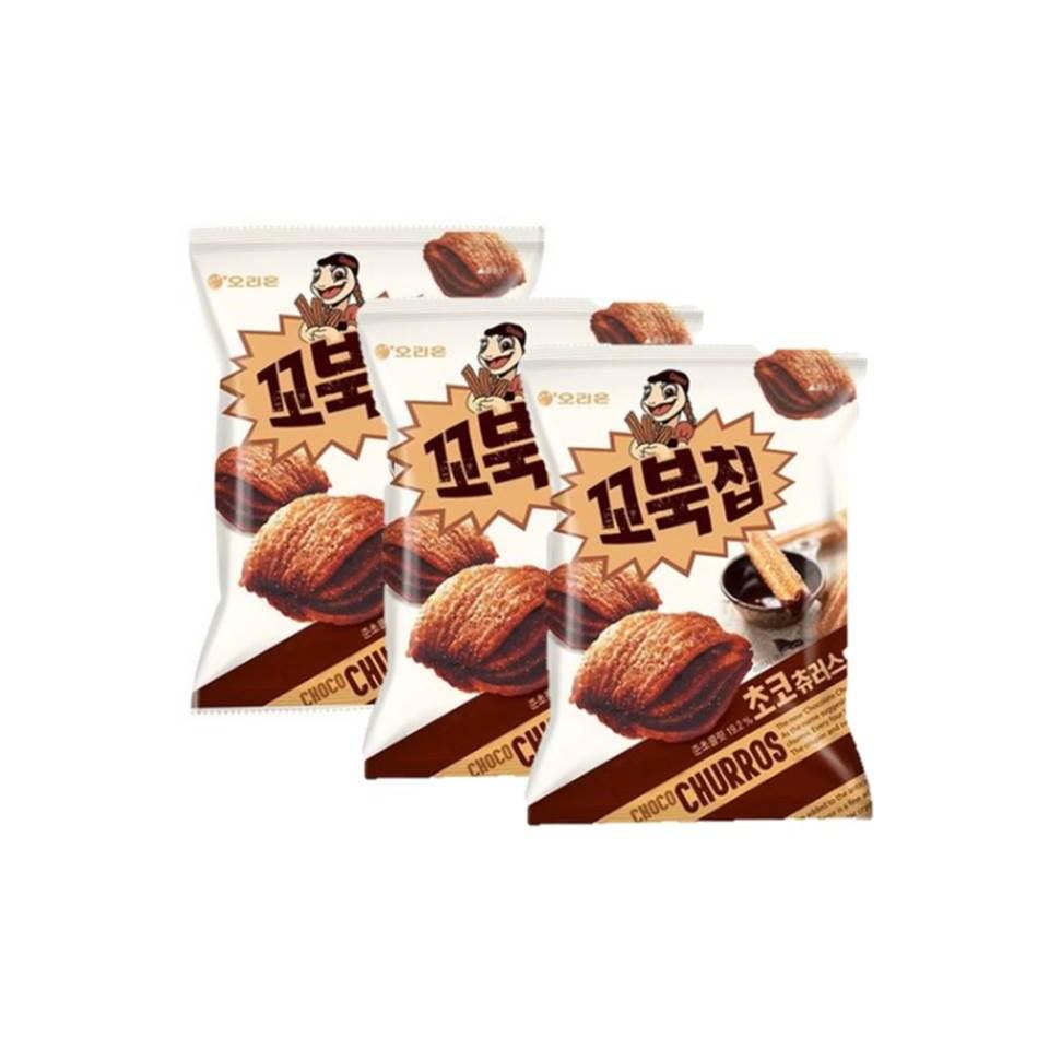 오리온 꼬북칩 초코츄러스 136g 3개