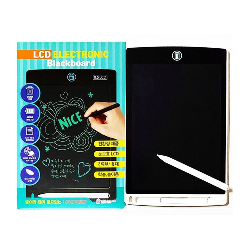 기타 LCD 8.5인치 스마트 전자칠판 메모패드 부기보드