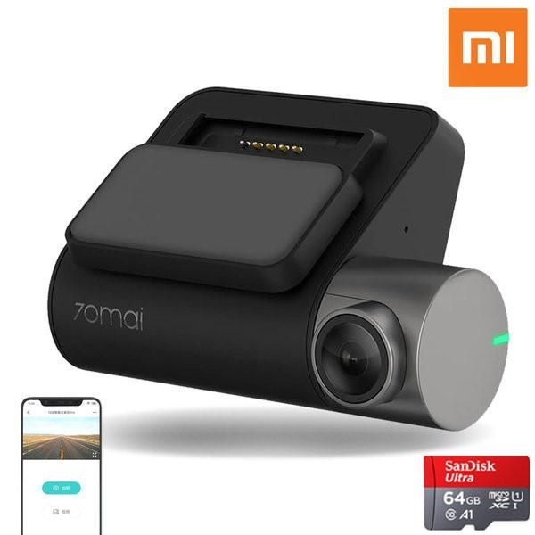 샤오미 70mai 70마일 스마트 차량용 블랙박스 Pro 고화질, 블랙박스 PRO+32G카드