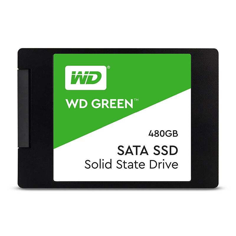 WD 그린 SATA SSD 2.5인치 7mm, 480GB, WDS480G2G0A