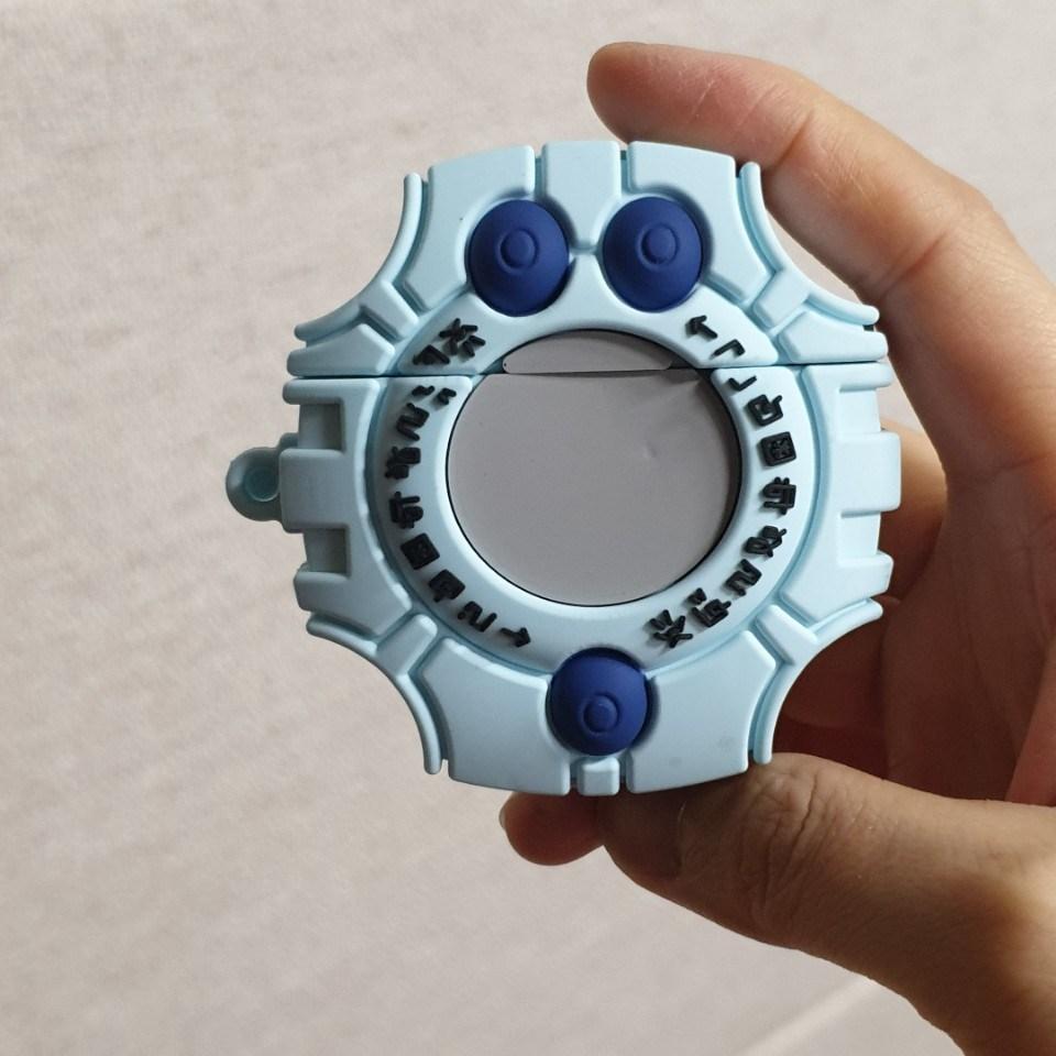 에어팟 케이스 디지바이스 1세대 2세대, 카메라 에어팟 케이스