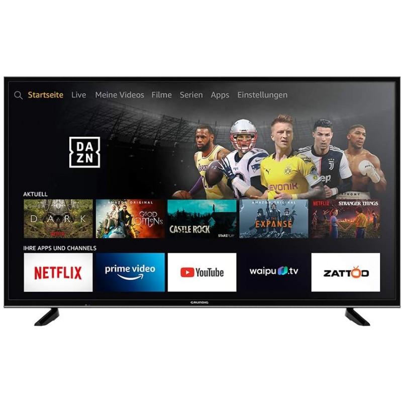 그런디그 비전 7 - 화재 TV 에디션 (49 VLX 7010) 123cm (49 인치) TV (울트라 HD 알렉사 음성 제어 HD, 단일상품