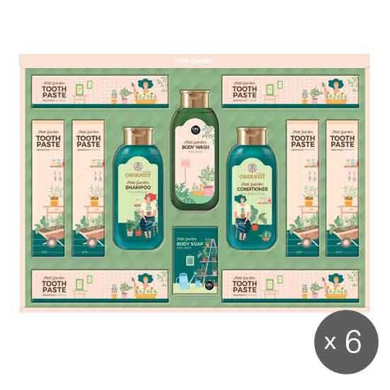[LG생활건강 추석 선물세트] 홈가드닝에디션 세트 x 6개 한박스, 없음
