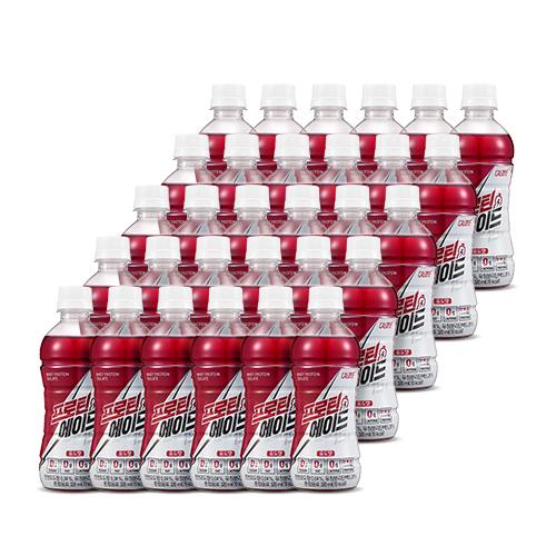 칼로바이 김종국 프로틴에이드 유청단백질WPI 헬스보충제 음료 포도맛 5set, 30개입, 320ml