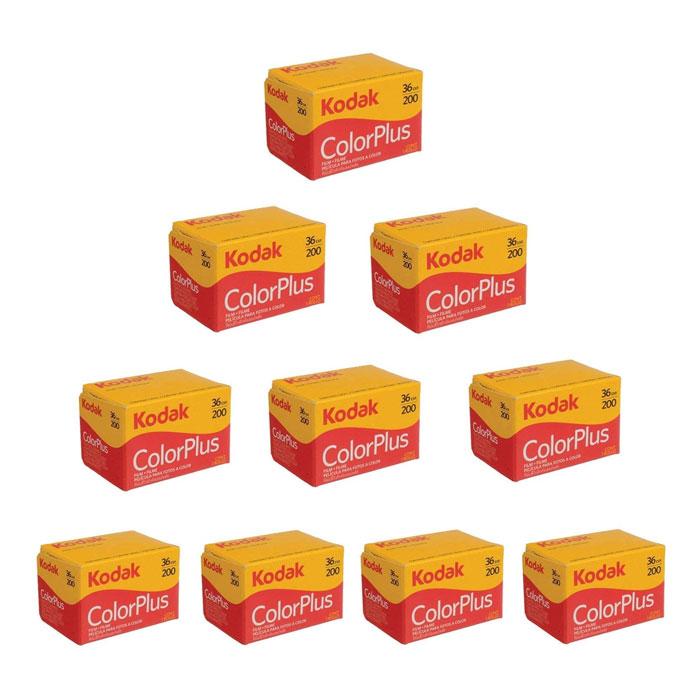 코닥 컬러플러스 200-36 35mm필름 10팩 / Kodak Color Plus 200-36 35mm 10set