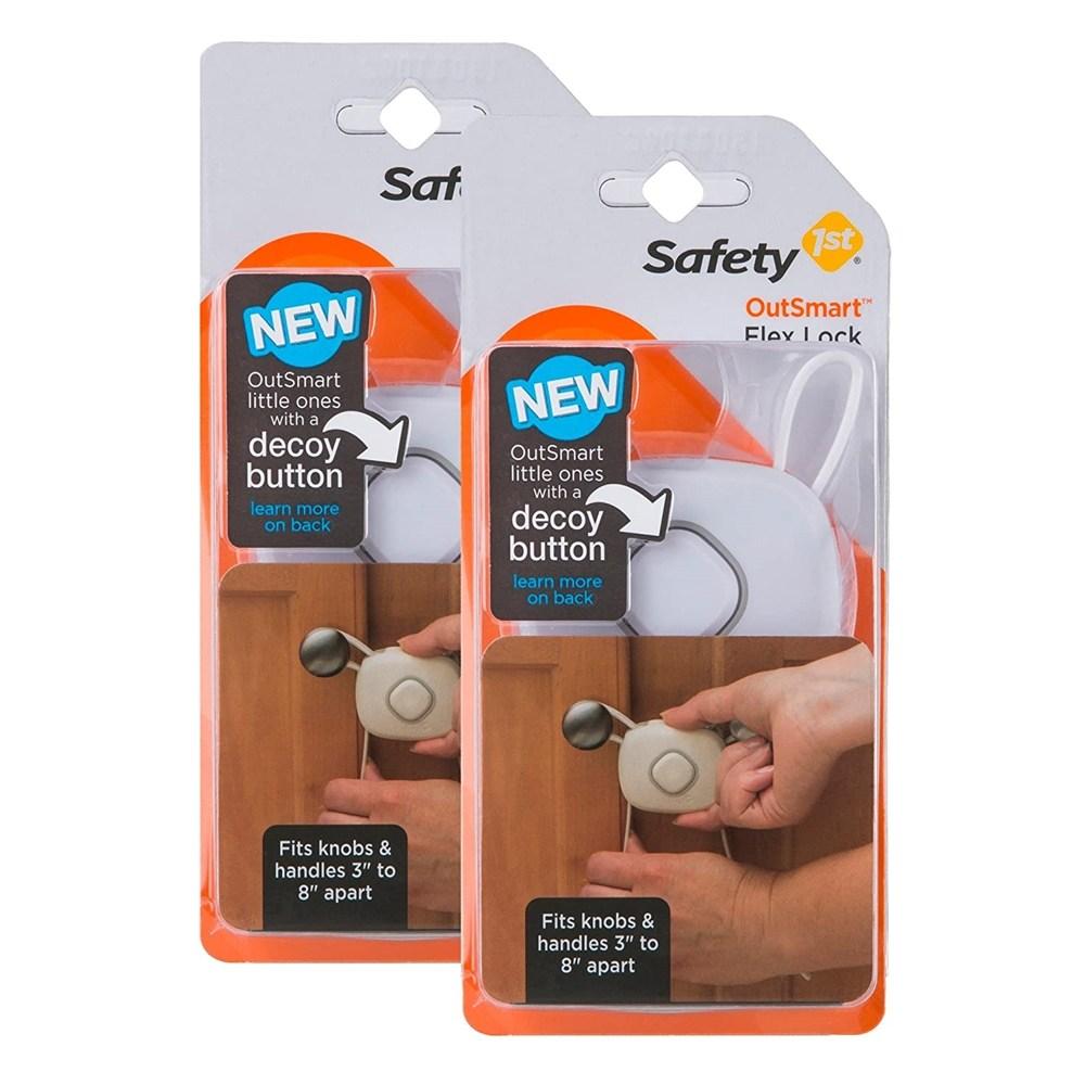by Safety 1st 안전 1stSmart Flex Lock 유아안전잠금장치 자석잠금장치 문열림방지 서랍잠금장치 안전잠금장치 서랍열림방지 유아안전, 1개, 단일상품