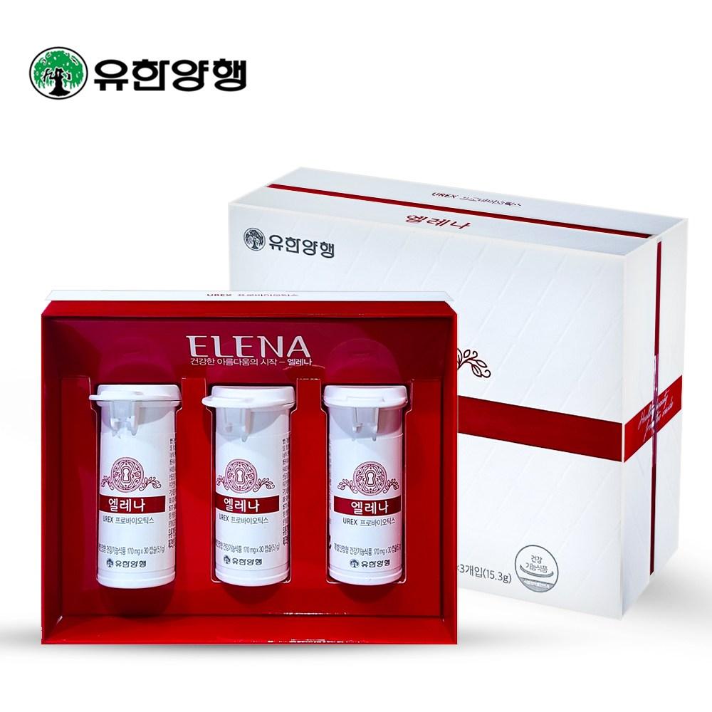 유한양행 엘레나 프로바이오틱스 유산균, 1개, 90캡슐