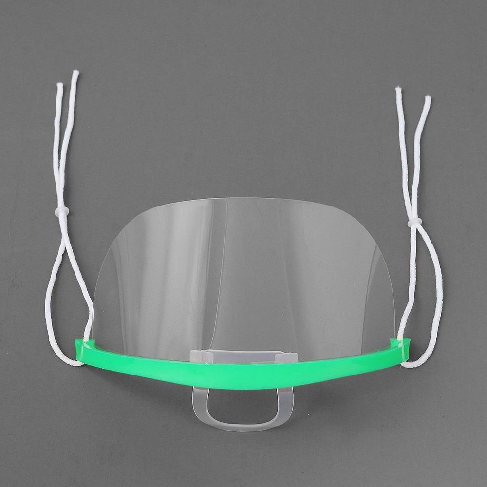 베리굿 급식 배식용 투명 위생 마스크 10개세트 입가리개 목걸이형 VG (POP 5985038545)