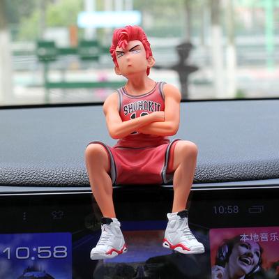 브레인포 미소녀전사 세일러문 슬램덩크 차량용 피규어 장식품, 07-사쿠라기 하나미치
