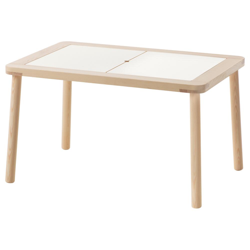 어린이테이블 플리사트 83x58 cm, 기본