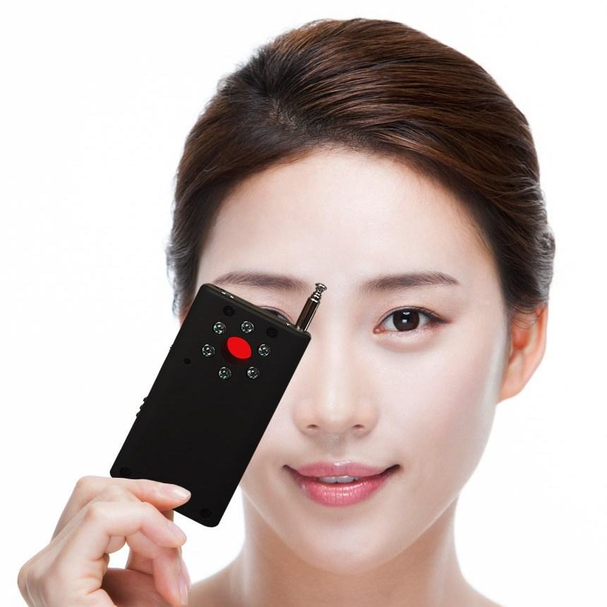 쏙쏙 잡아내는 휴대용 몰래카메라 탐지기 전파탐지기 도청장치탐지기 도청탐지기 몰카탐지기