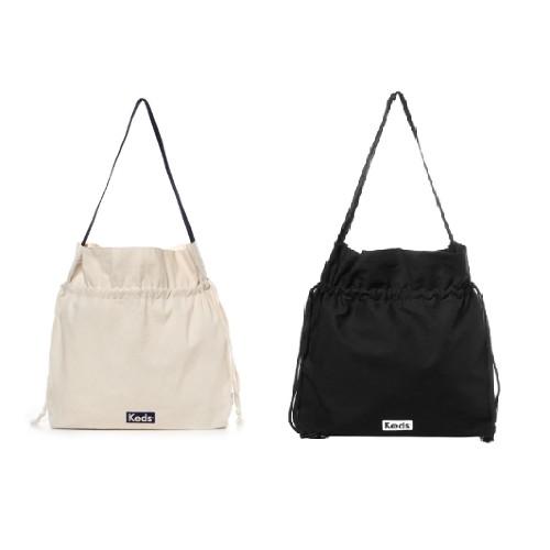 [케즈]남녀 공용에코백 스트링 백 SB100030외 1종, 블랙