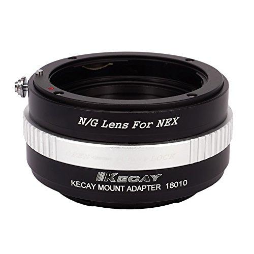 [해외직구]Nikon G-NEX Nikon G DX 렌즈 용 KECAY 렌즈 마운트 어댑터 Sony NEX E- 마운트 미러리스 카메, 상세 설명 참조0, 상세 설명 참조0