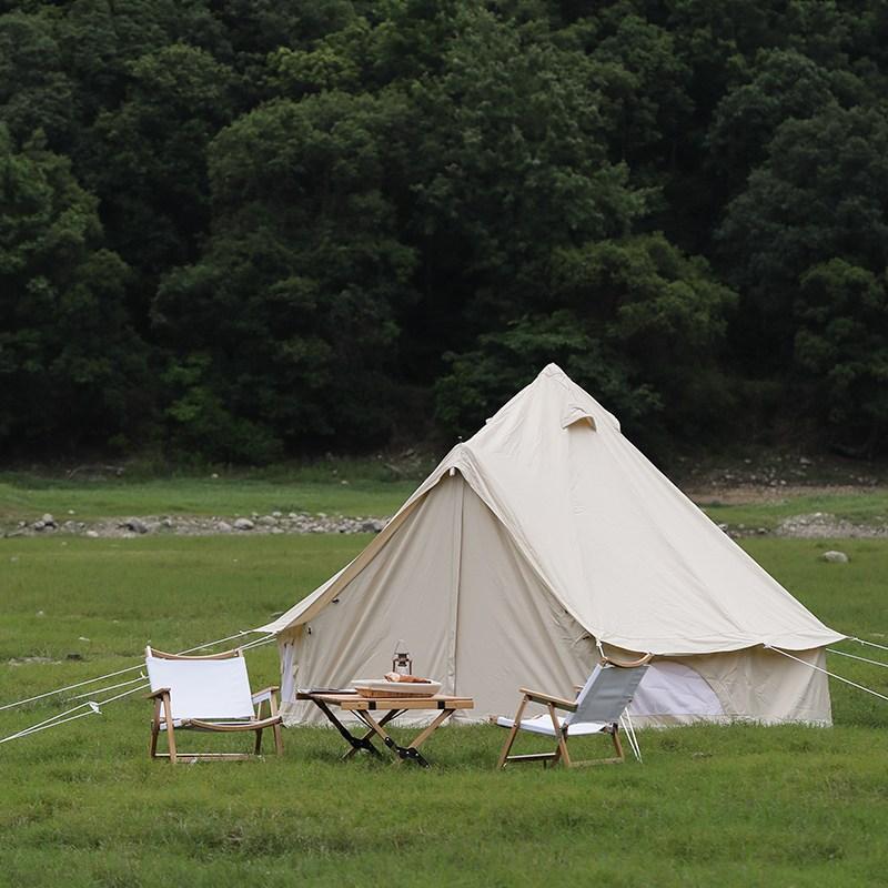 야외 럭셔리 감성 갬성 힐링 다인 대형 캠핑 텐트, 7m 오염 방지 매트
