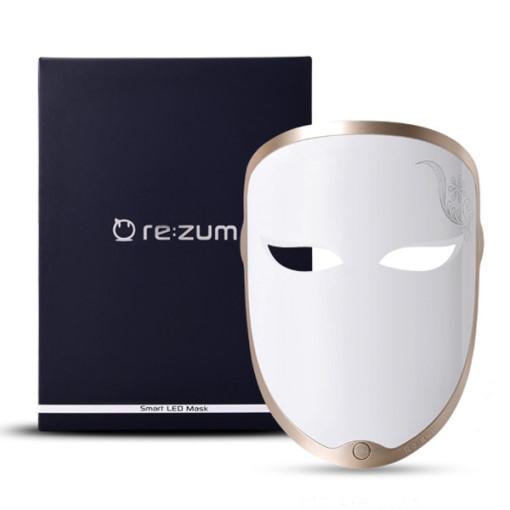 리쥼 LED마스크, 화이트, Smart LED mask