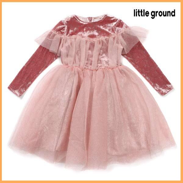 [현대백화점][리틀그라운드8] 룰라비 (70A2240004) 발레리나드레스 여아 아동 드레스 공주 원피스 파티룩
