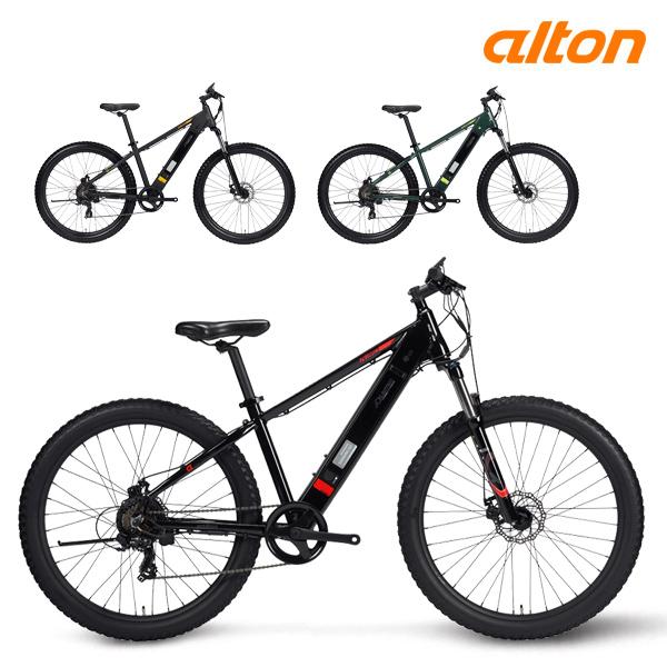 GIFT 전기 자전거 2020 알톤 니모 27.5 파스 스로틀 7단, 무광블랙(파스+스로틀)
