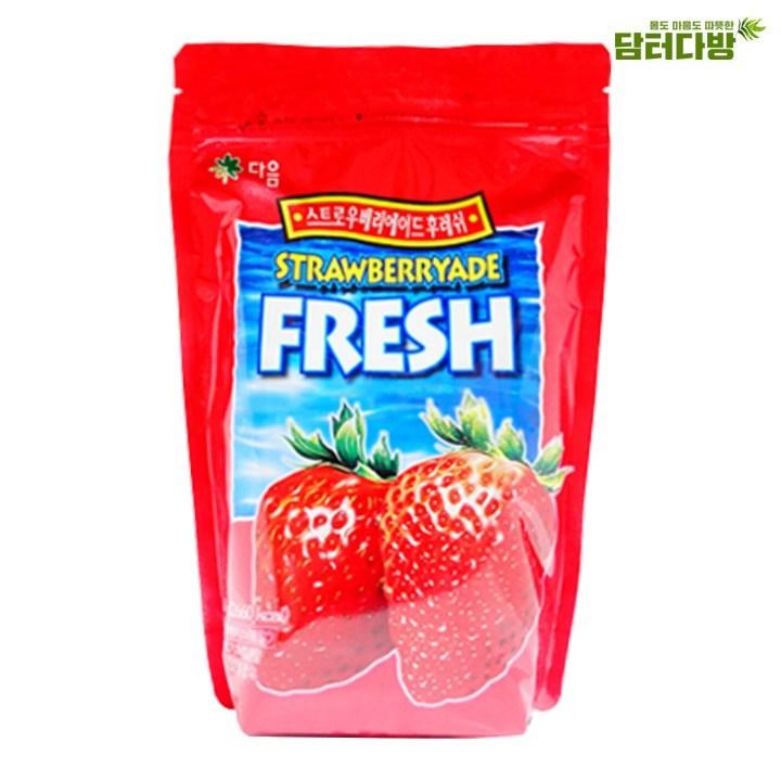 다음 딸기에이드 후레쉬 분말 700g, 1개