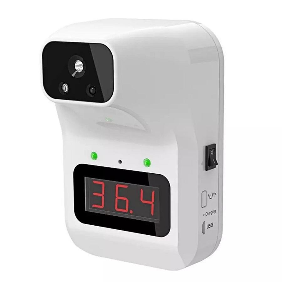벽걸이온도계 비접촉식온도측정기 해외당일발송