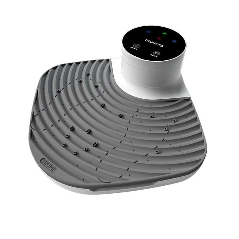 샤워 후 바람으로 몸을 말려주는 드라이바디 2020 신제품 에어샤워로 피부 보송보송한, 밝은 회색