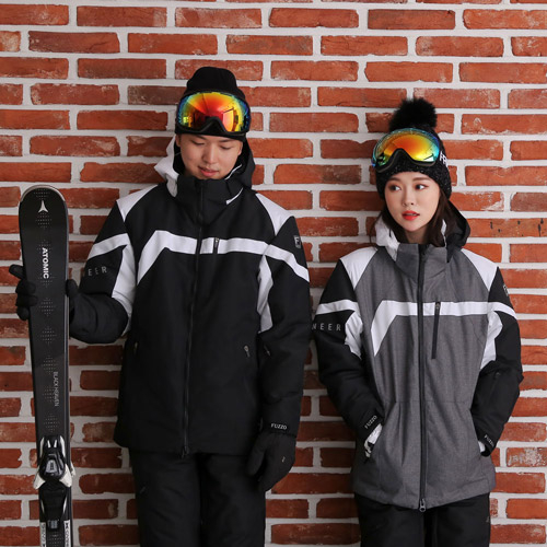 푸조 에스트로 남여공용 스키 스노우보드 패딩 자켓 스키/보드복