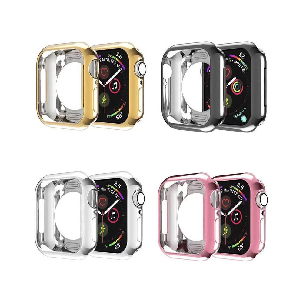 아이엠판다 애플워치 5 4 3 2 1 케이스, 1개, 핑크-42