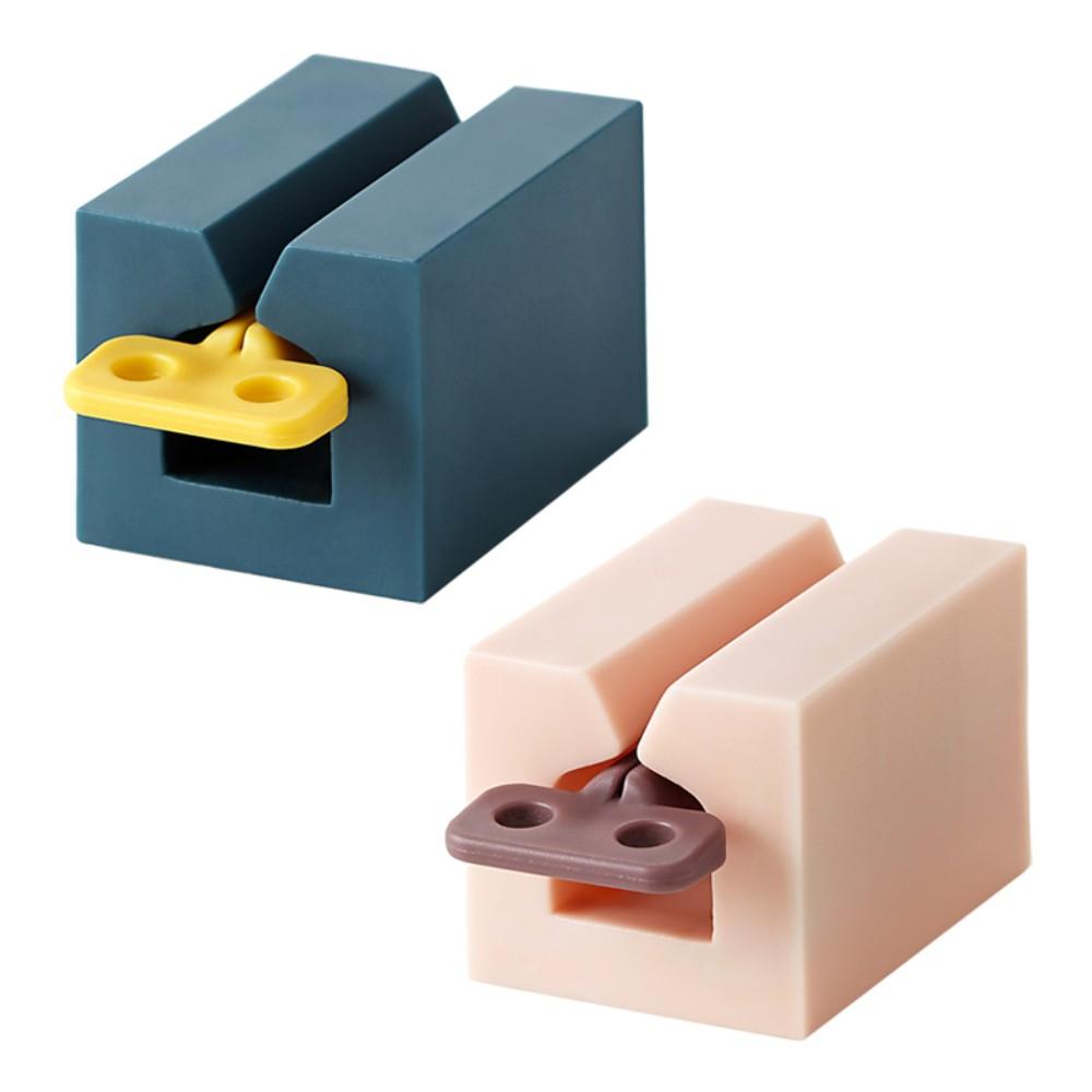 튜브링거 치약짜개 물감 츄르짜개 치약디스펜서 신박템 기발한아이디어상품, 네이비 1p + 밀크핑크 1p개