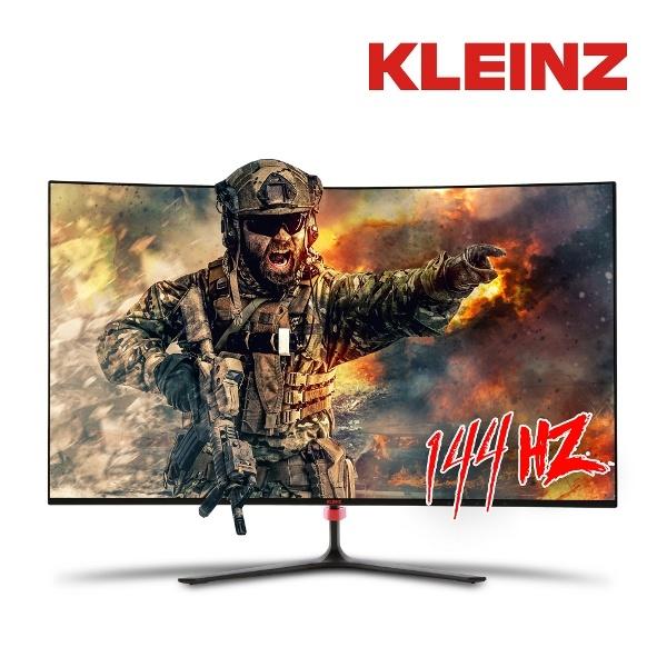 two1mall [클라인즈] 27인치 게이밍 모니터 QHD 커브드 [무결점] * 삼성 정품 패널 144Hz / 프리싱크 지원 조준선 표시 로우블루라이트 HDMI Display Port DVI, 565125