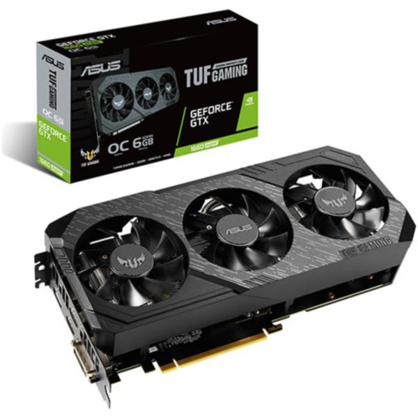 ASUS 지포스 TUF 3 Gaming GTX 1660 SUPER O6G D6 6GB 그래픽카드, 선택하세요