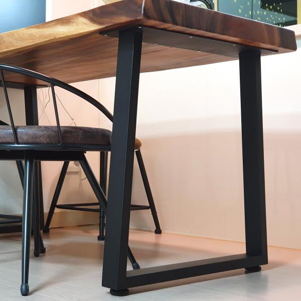 A자형 식탁및 벤치다리 80*20각의 굵은파이프사용 2개1조 가격, 벤치용 400높이 2개1조
