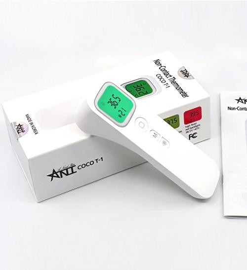 썬샵 [무배] 적외선 측정 약국 온도계 비접촉 체온계 국내생산 고감도 2MODE, 단품
