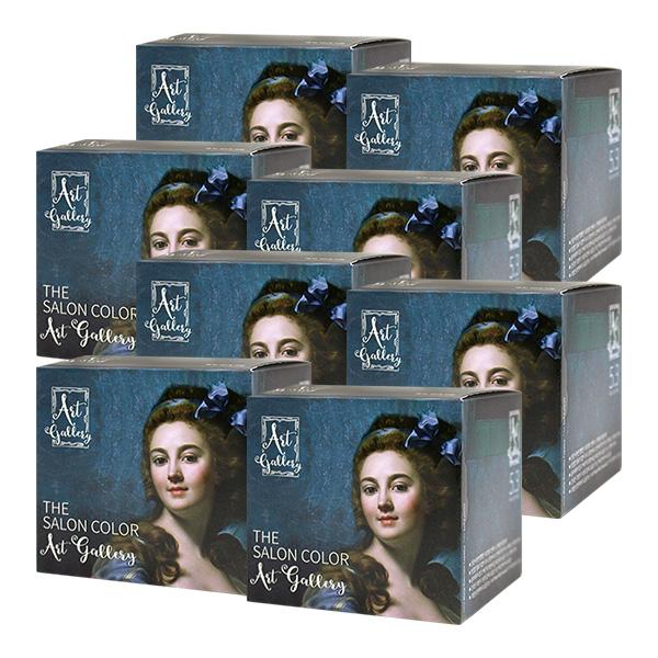 순수 더 살롱 컬러 아트 갤러리 5.3 초코 브라운X8개, 단품