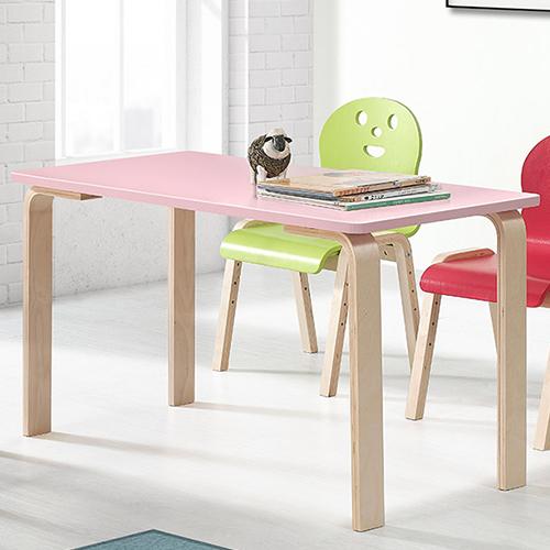 토리 원목 초등 오리지널의자 직사각 책상세트 8-10세, 초등 직사각 분홍 책상 / 오리지널의자 연두 2개