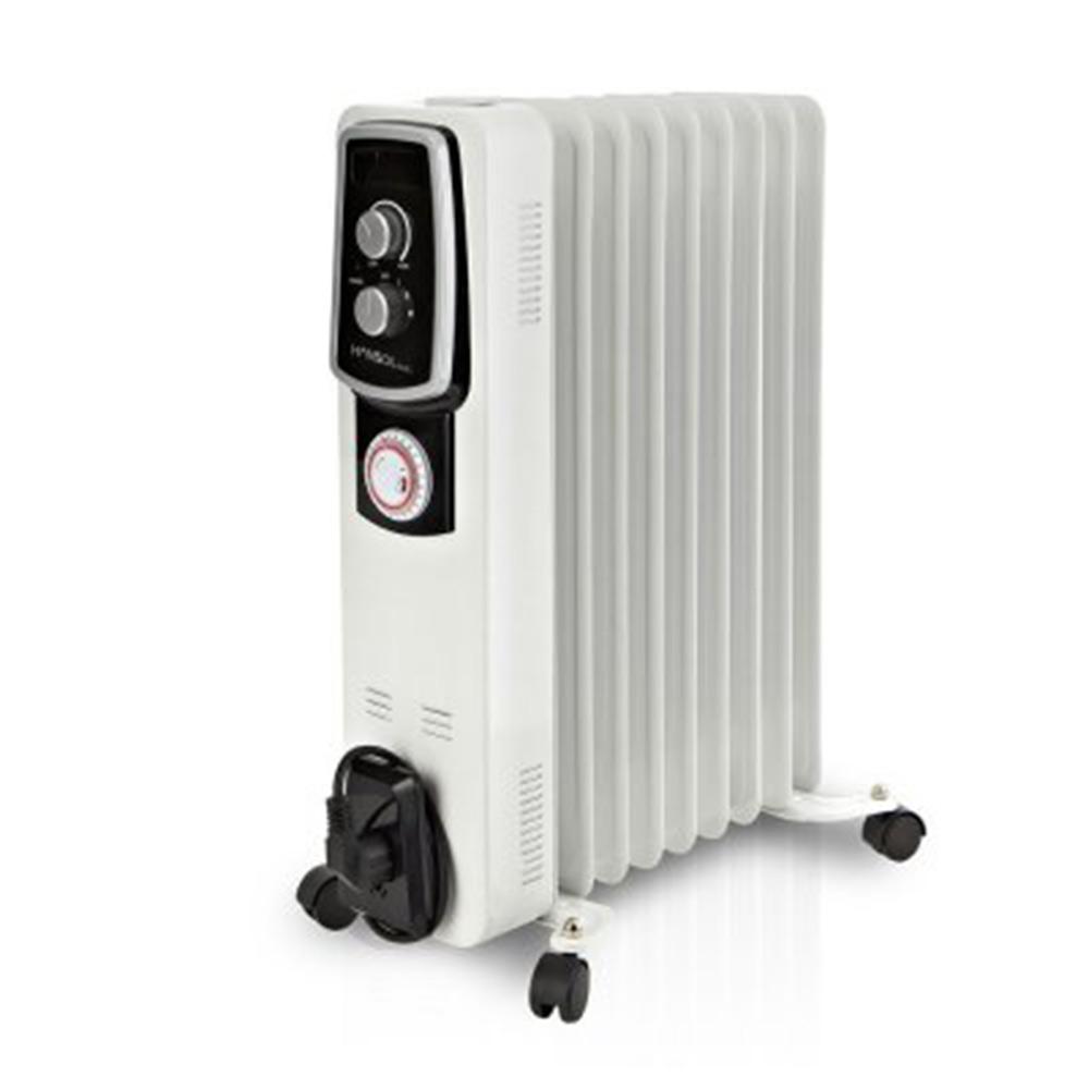 한솔 라디에이터 9핀 타이머 욕실 난방 히터 HSR-9T, 단일상품