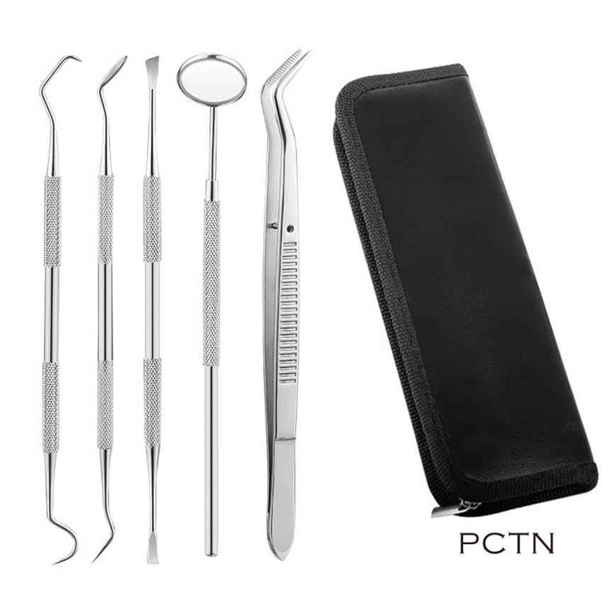 가정용 셀프스케일링 미백 치간 치경 의료용 치석제거기, 1세트, 수동식