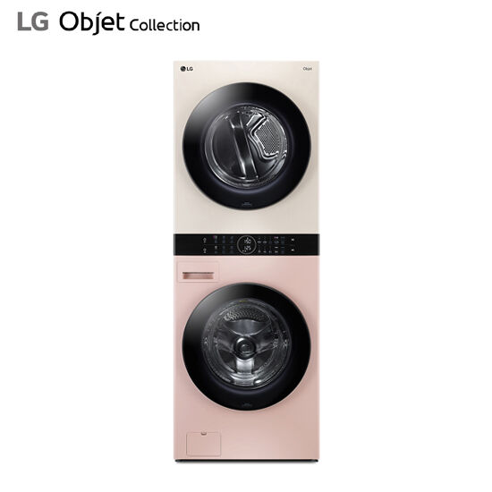 LG 워시타워 오브제 컬렉션 핑크베이지 W16PE, 단품