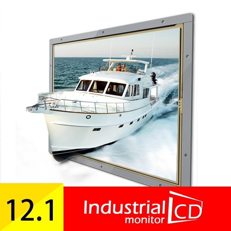 12 인치 산업용 4 선식 저항  오픈 프레임 1400 1050 HD 4 : 3 HDMI VGA DVI USB 터치 LCD 화면 디스플레이 (POP 5715182705)