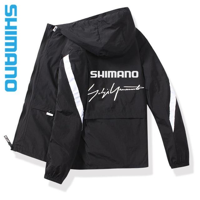 2021 New 시마노 바람막이 낚시 자켓 봄여름 의류, 2XL-10-5266067390