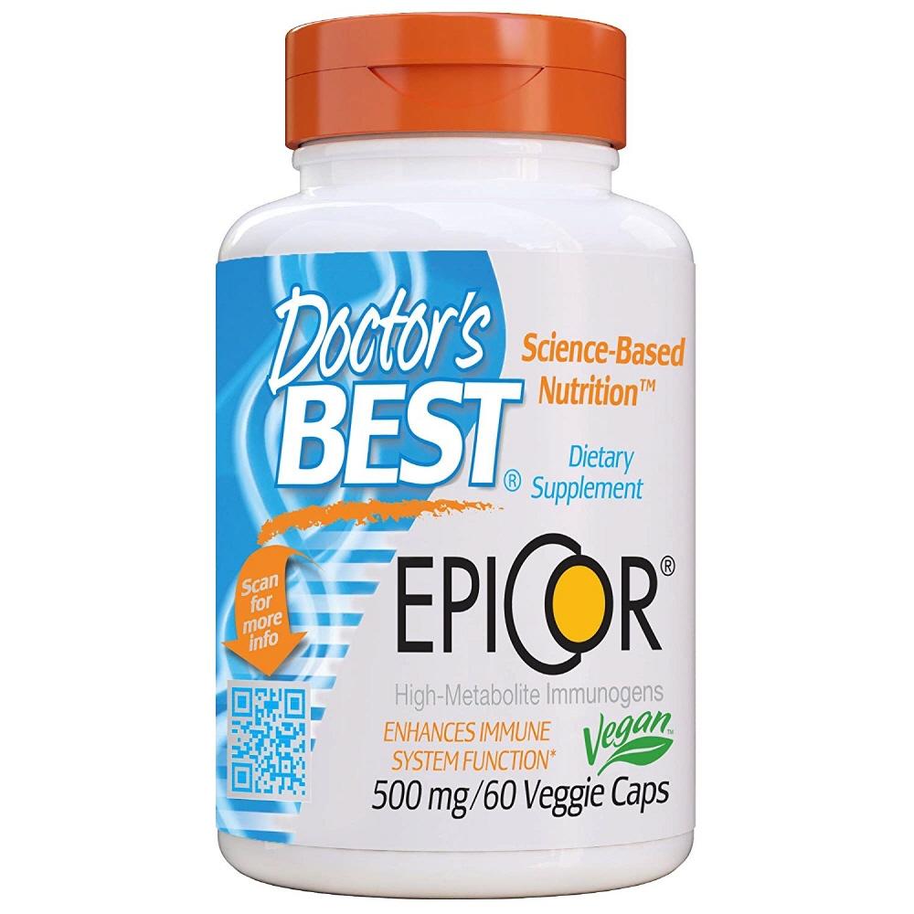 Doctors Best EpiCor 500mg 닥터스 베스트 에피코 60베지캡슐, 1개