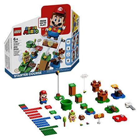 레고 Super Mario Adventures with Mario Starter Course 71360 Building Kit Interactive Set Featuring, One Color