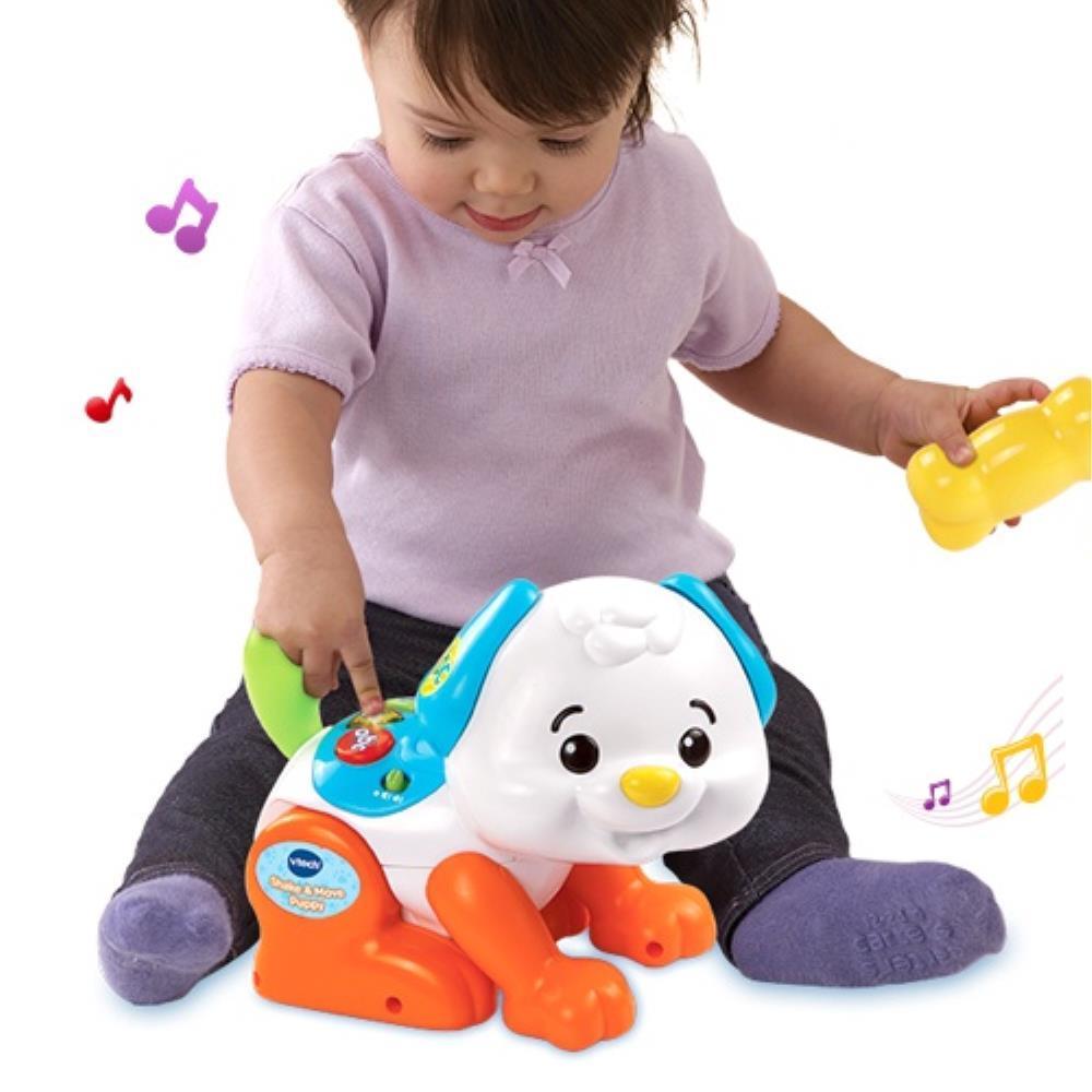 혼자놀기 스마트 장난감 움직이는 강아지 유치원교구