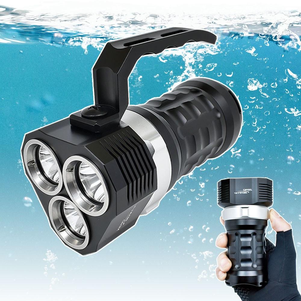 제로빔 DX7 수중랜턴 다이빙 써치라이트 해루질랜턴, DX7 랜턴 단품(배터리미포함)-2-5392246801