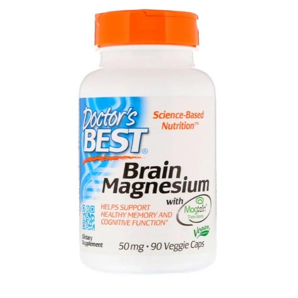 Doctors Best 닥터스베스트 브레인마그네슘 트레온산 마그네슘 90캡, 1팩, 90정