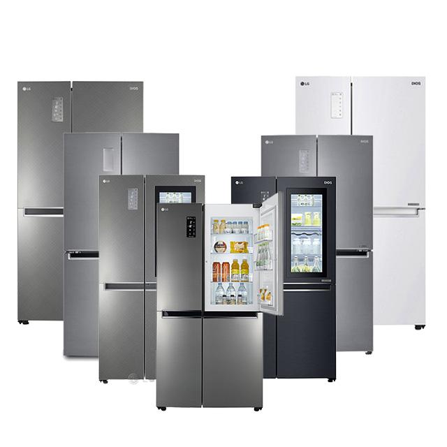 LG DIOS 매직스페이스 세미빌트인 양문형 냉장고 모음전