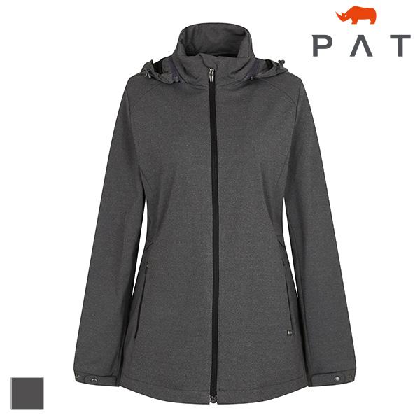 PAT 여성 멜란지 그레이 스트레치 점퍼-1C61332