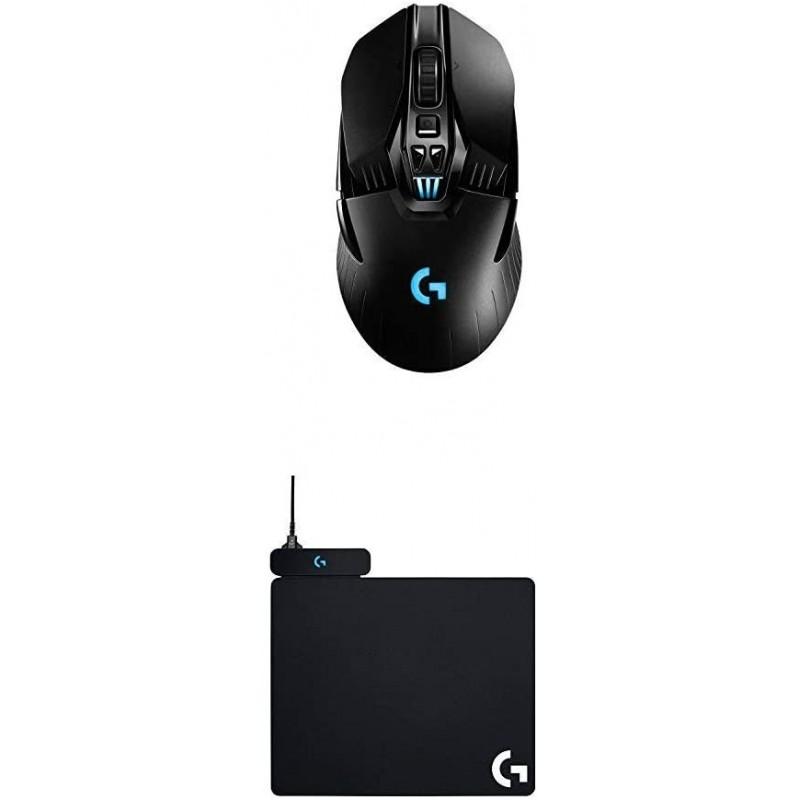[독일] 로지텍 G903 라이트스피드 무선 게이밍 마우스 + 파워플레이 무선 충전 게이밍 마우스 패드(로지, 단일상품, 단일상품